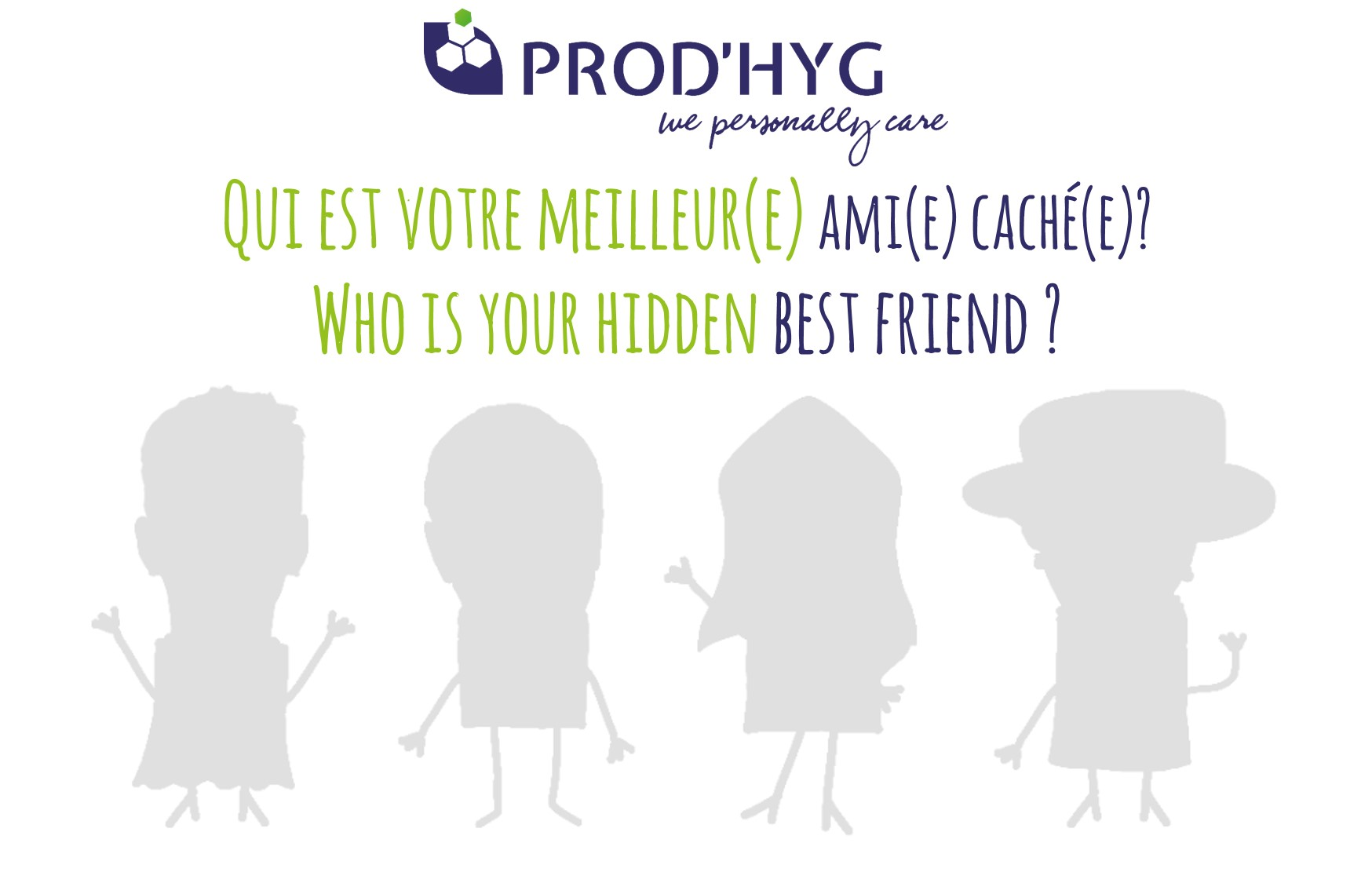 Who is your hidden best friend?